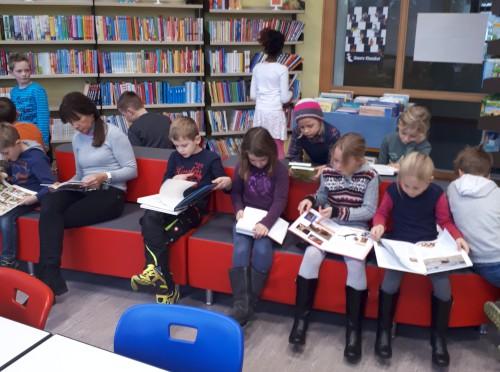 Unsere Bücherei in neuem Gewand