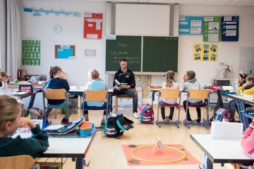 Spannend-sportlicher Vorlesetag an der Grundschule
